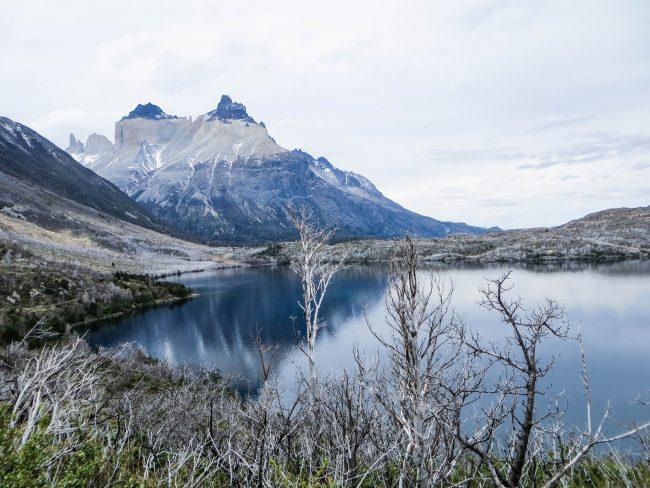 Skottsberg lake - one of the highlights between Paine Grande and Camp Italiano