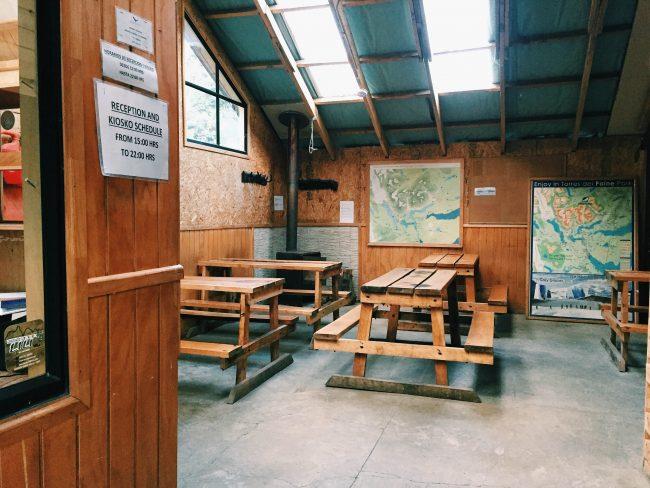Cooking area at Los Cuernos